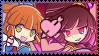 Arle x Shin!Arle Shipping Stamp by ChaoticMarin