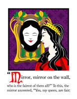 Mirror Mirror On The Wall by Snarktastic