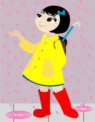 Pink Raindrops Keep Falling