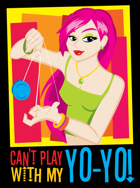 Can't Play With My Yo-Yo by Snarktastic