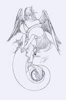 'Alisae' Valentine's sketch [C] by Norles