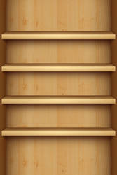 iPhone Retina Shelves