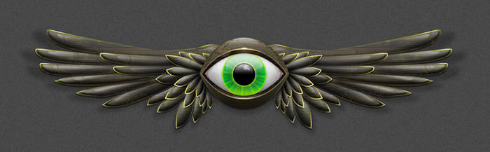 Khaos Eyeball by apttap