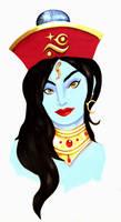 Kaliva portrait by TheSixthSaint