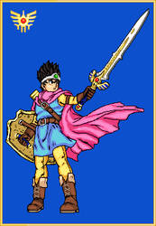 Dragon Quest III's Hero