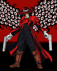 Alucard from Hellsing (hat and shades version)