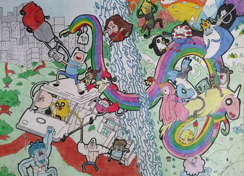 World Of Regular Show / Adventure Time