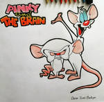 Pinky And The Brain by oscarb1
