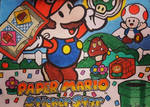 Paper Mario Sticker Star by oscarb1