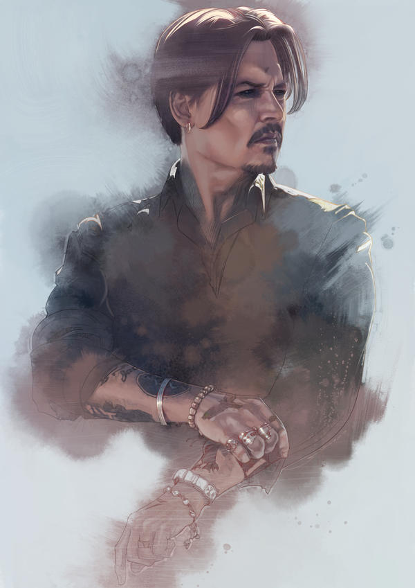 Johnny deep by lshgsk