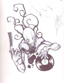 Donnie Demonic Sketch