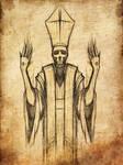 Stigmata Priest Sketch