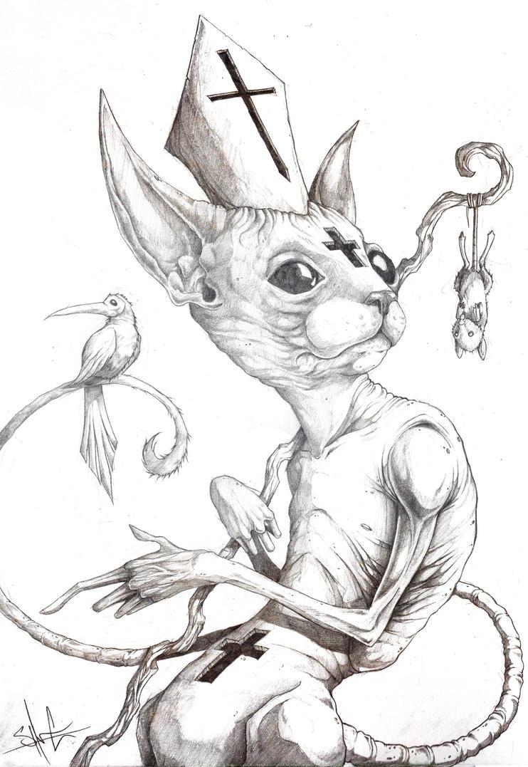 Cat-holisism by ShawnCoss