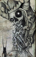 adventure time litch by ShawnCoss