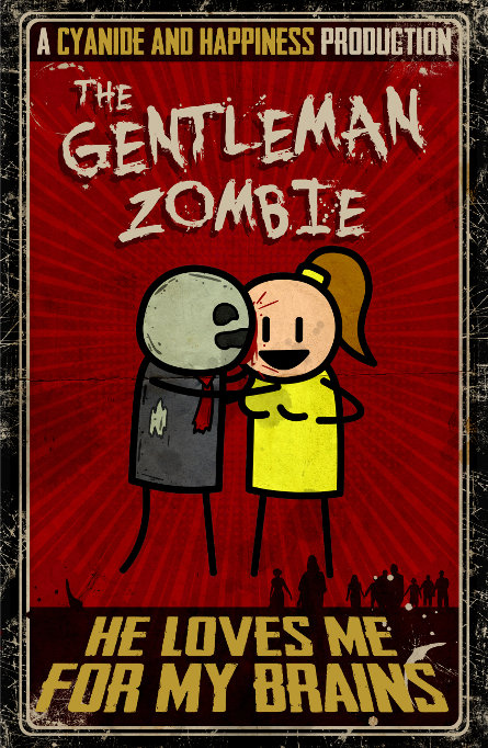 The Gentleman Zombie by ShawnCoss