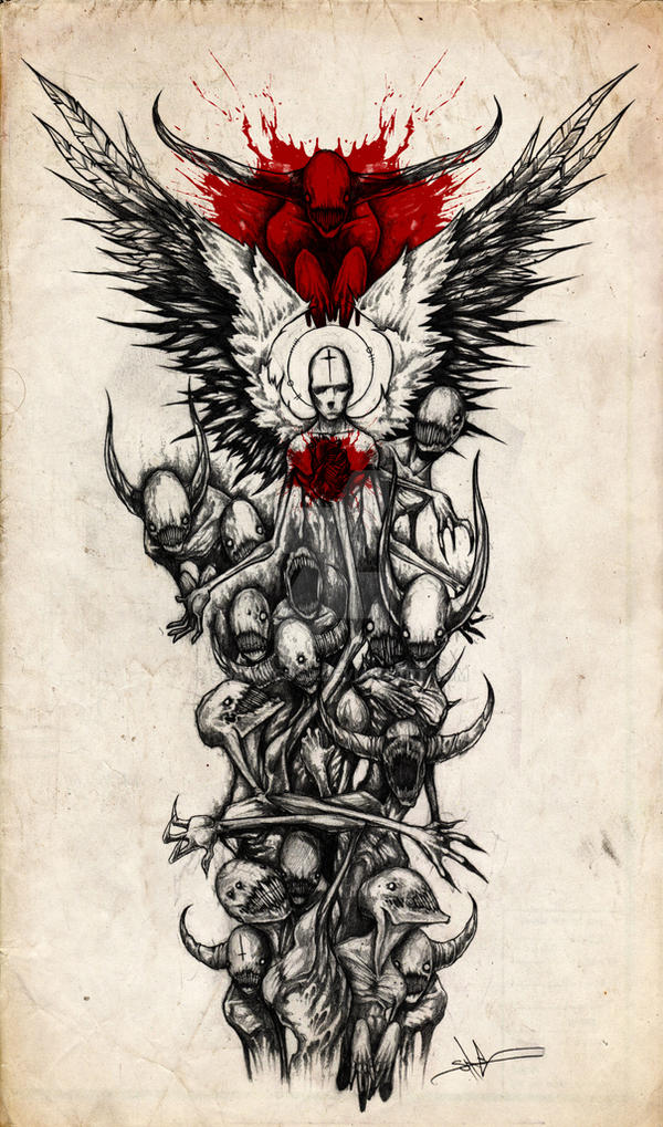 Demon Sleeve by ShawnCoss on DeviantArt