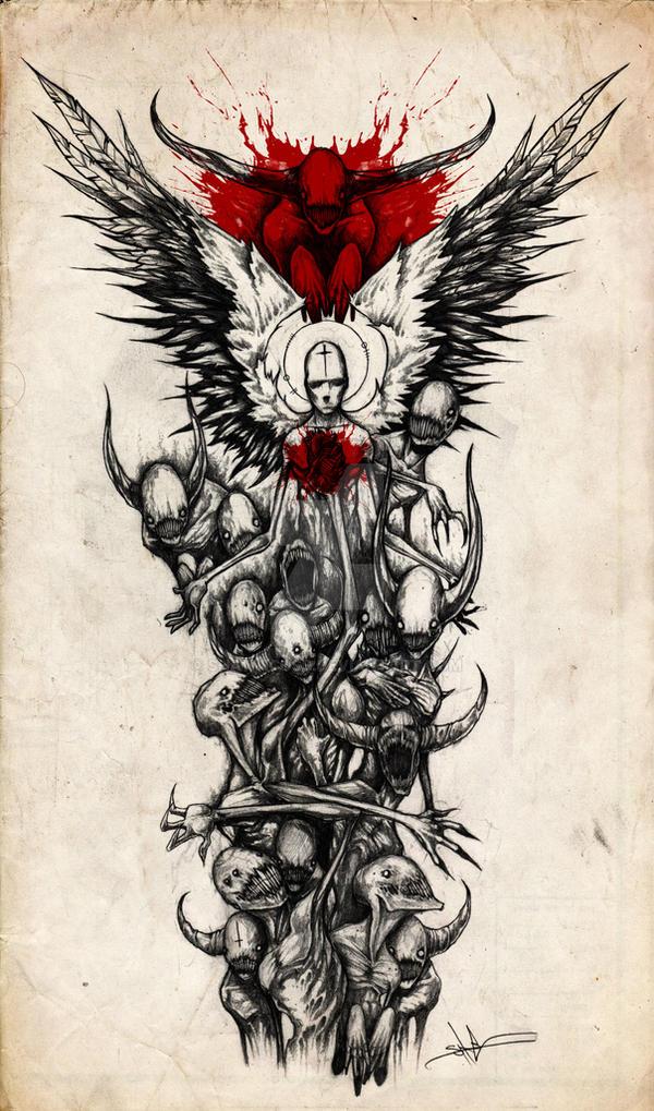 Demon Sleeve by ShawnCoss on DeviantArt