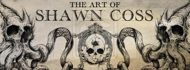 Skull Fetal Banner by ShawnCoss