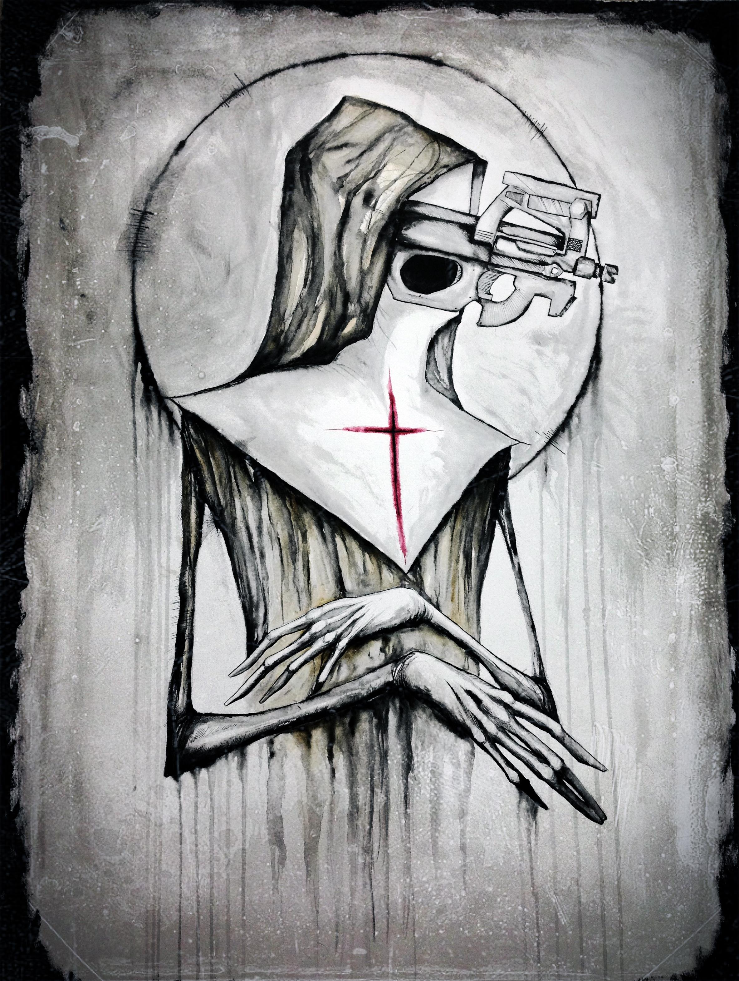 Sister Machine Gun by ShawnCoss