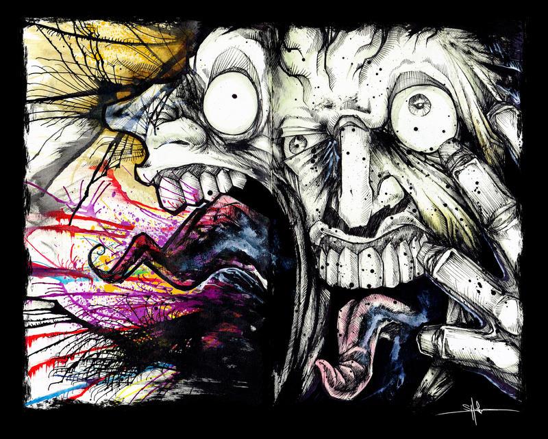 Stress Migraine by ShawnCoss