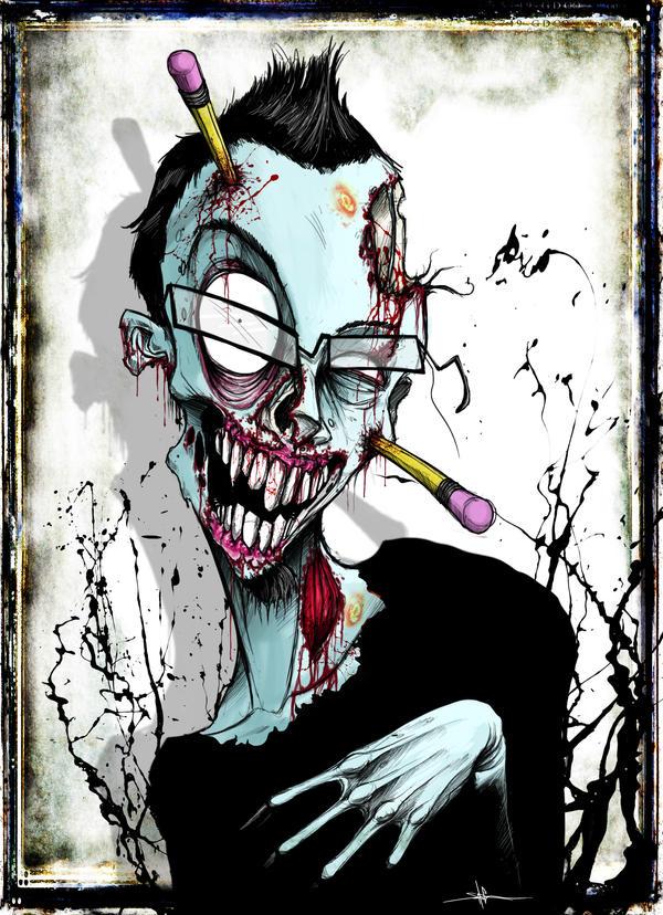 Zombie Selfie by ShawnCoss