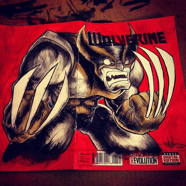 Wolverine Cover by ShawnCoss