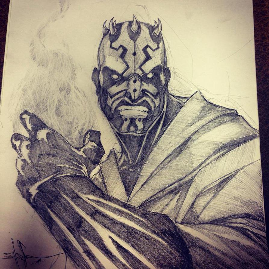 Darth Maul the Magician by ShawnCoss