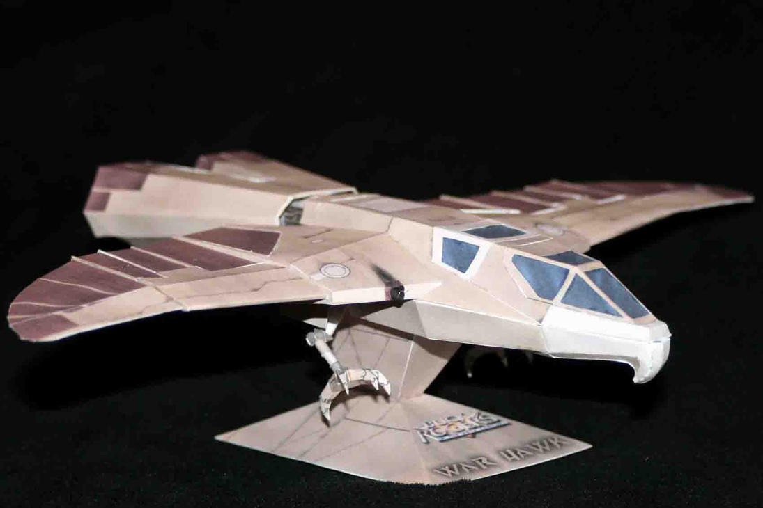 Buck Rogers Warhawk by ThunderChildFTC