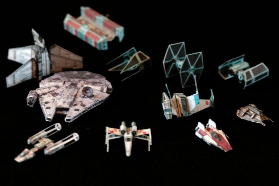 Tiny Star Wars 1 by ThunderChildFTC