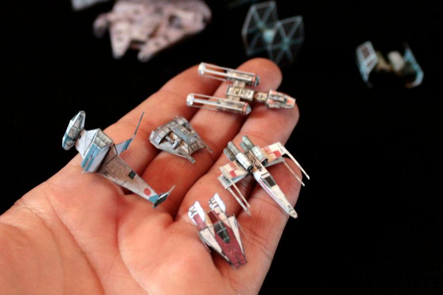 Tiny Star Wars 2 by ThunderChildFTC