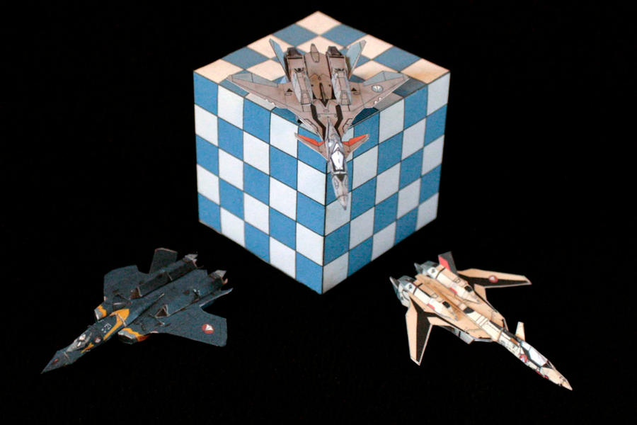 Tiny Macross Plus 1 by ThunderChildFTC
