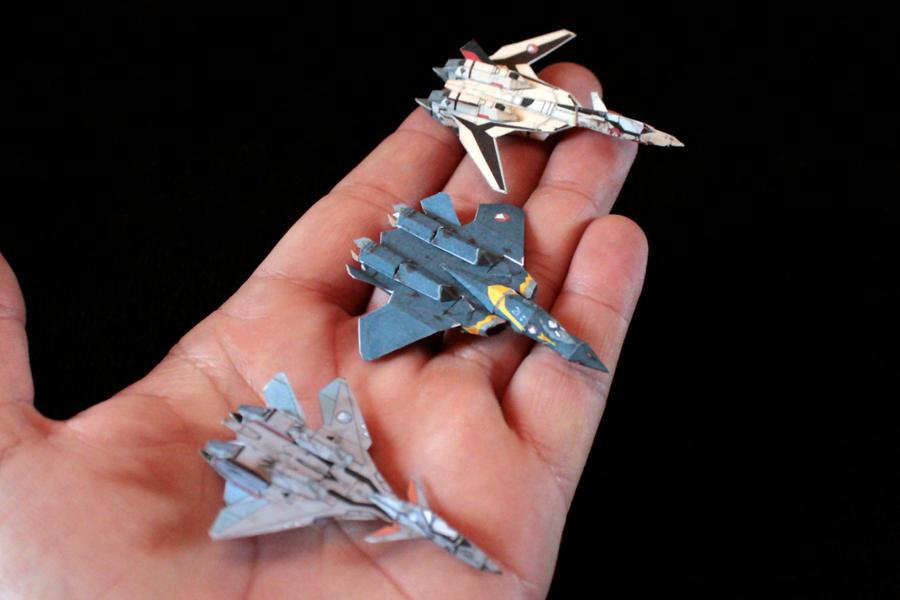 Tiny Macross Plus 2 by ThunderChildFTC