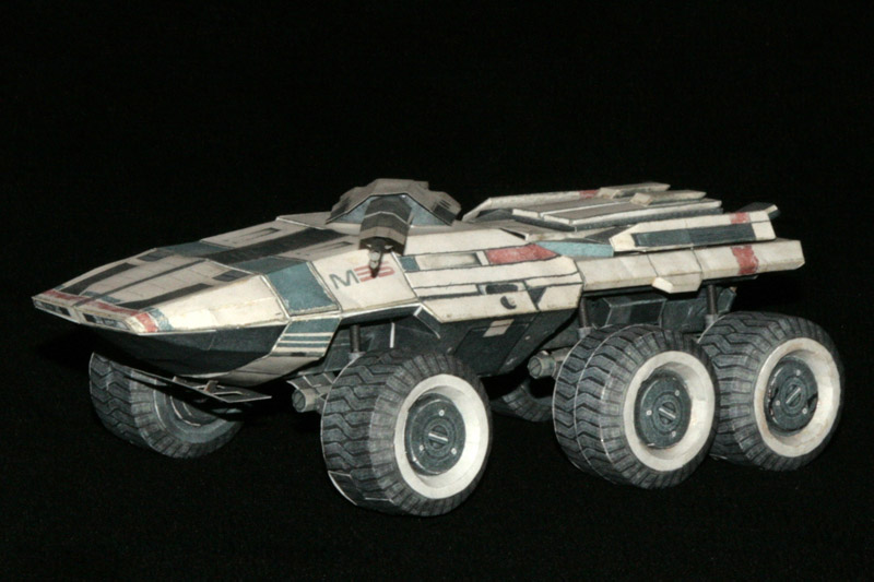 Mass Effect Mako buid 3 by ThunderChildFTC