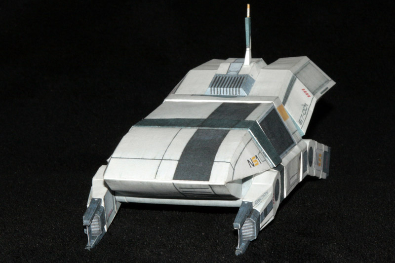 Mass Effect 2 shuttle buid 1 by ThunderChildFTC