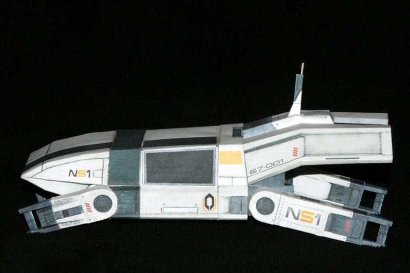 Mass Effect 2 shuttle buid 2 by ThunderChildFTC