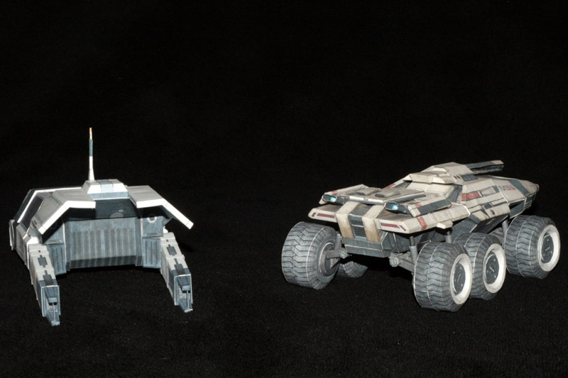 Mass Effect Mako and Kodiak 2 by ThunderChildFTC
