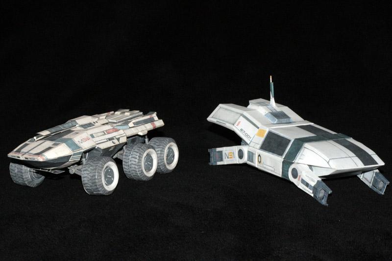 Mass Effect Mako and Kodiak 1 by ThunderChildFTC