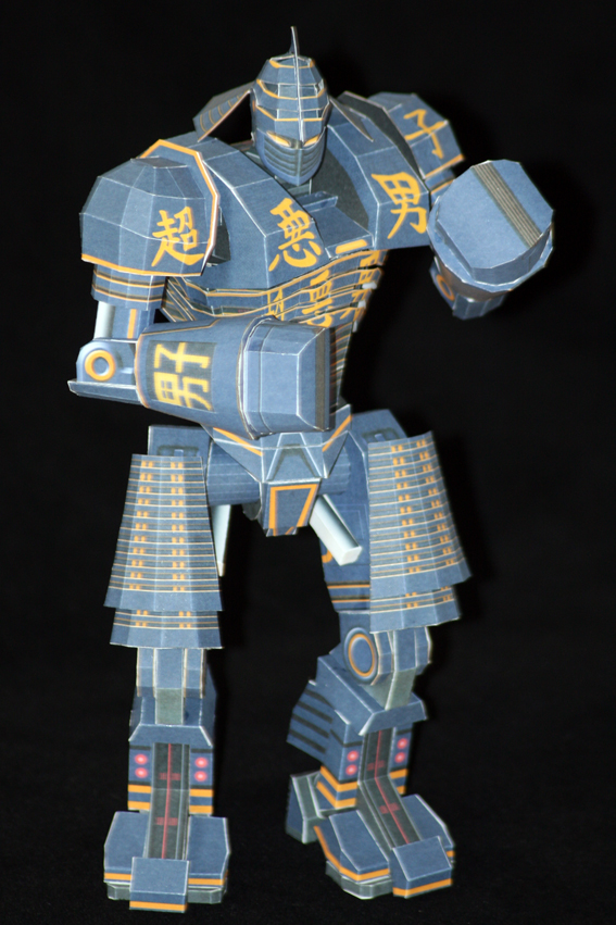 Real Steel Paper model: Noisy Boy: Hard 01 by ThunderChildFTC