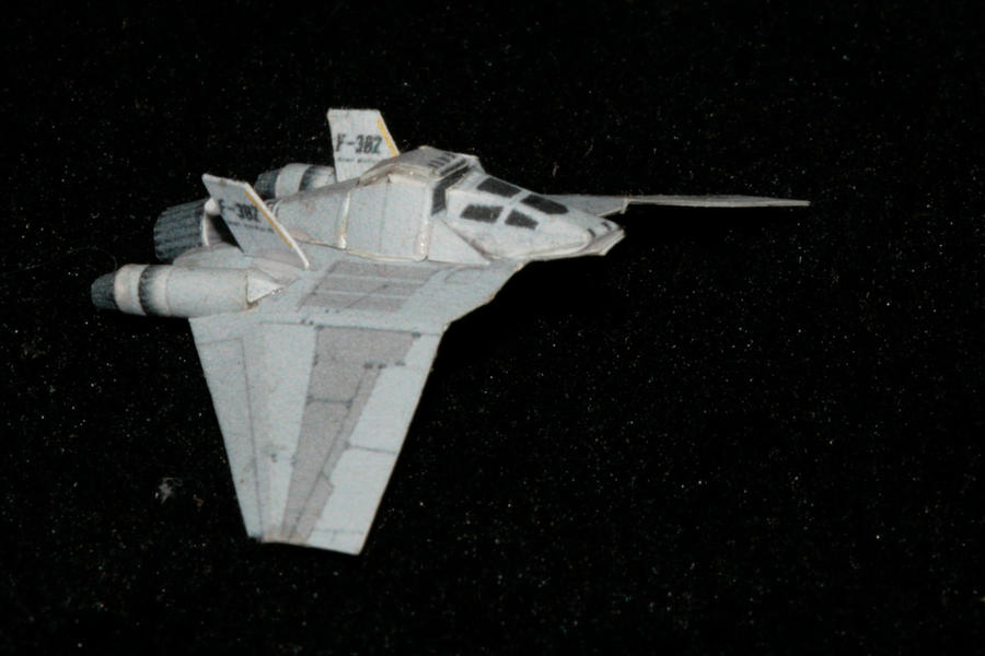 Stargate F-302 Paper model 2 by ThunderChildFTC