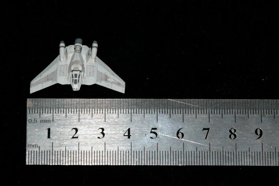 Stargate F-302 Paper model 1 by ThunderChildFTC