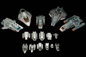 1:200 Trek Shuttle collection
