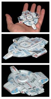 USS Defiant model
