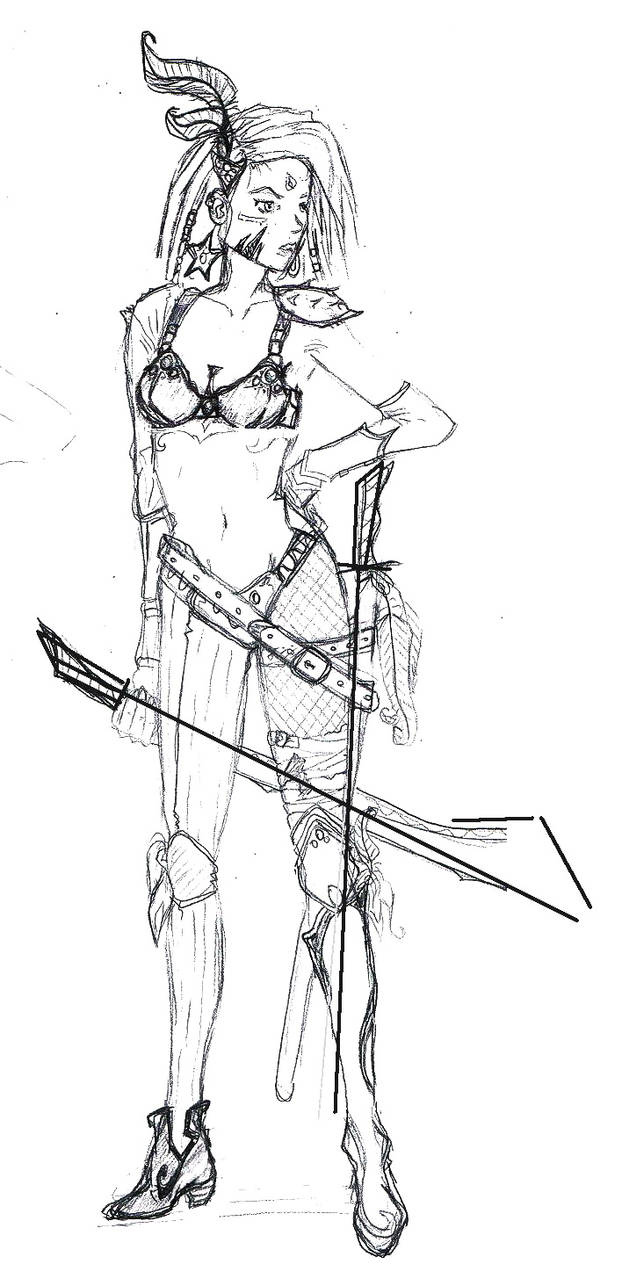 Warrior girl 2