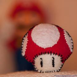 Mario Mushroom Plush