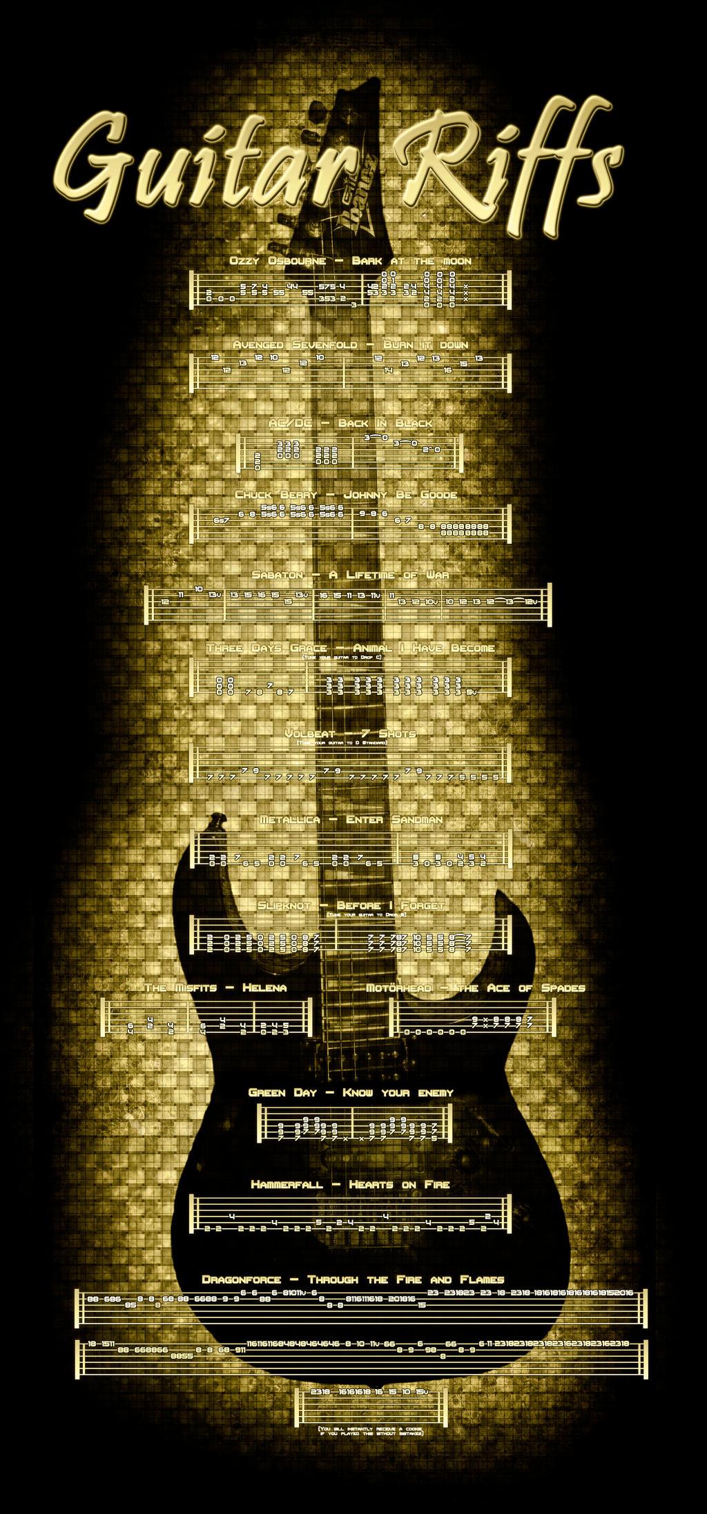 Guitar Riffs Door Poster by Angelo6661 Guitar Riffs Door Poster by Angelo6661  sc 1 st  Angelo6661 - DeviantArt & Guitar Riffs Door Poster by Angelo6661 on DeviantArt pezcame.com