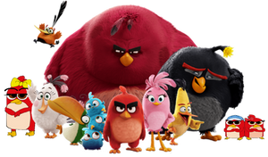 6th Main group (Angry Birds) by firetv