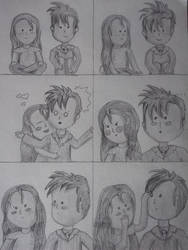 Comic Who fan art ~ Tenny-Hug comic :) by DragonsAndDreamscape