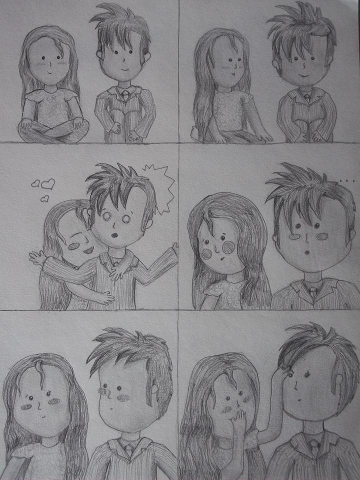 Comic Who fan art ~ Tenny-Hug comic :)
