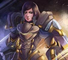 Pharah by rei-kaa