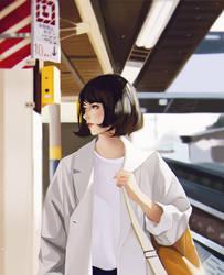 Train Station by rei-kaa